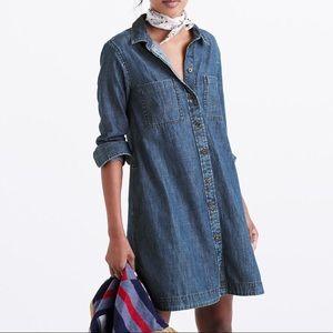 Madewell blue jean dress